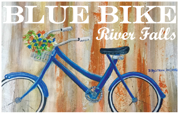 Blue Bike Pic